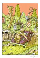 MAD MAX FURY DRAW - Roberto Baldazzini (Sugarpulp) Tags: comics tribute fumetti madmax illustrazione sugarcon sugarpulp sugarpulpconvention