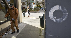 """There is a healthful hardiness about real dignity that never dreads contact and communion with others however humble."" --Washington Irving (irq506) Tags: life seattle street city light urban usa art girl look zeiss america self circle person idea washington perception paint place pacific northwest blind contemporary sony watch picture culture documentary social neighborhood identity photograph age observe shade convention environment fusebox discussion practice sight concept framing moment tradition gesture veteran society pnw critical comment reference interpret interpretive descriptive perceive inference amliepoulain streetshooter a6000 devtank irq506 sel24f18z sonnarte1824 sel20f28 essentialinsight a63000"
