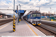 460.009-4 | Os3428 | tra 321 | esk Tn (jirka.zapalka) Tags: train spring czech cd os ceskytesin stanice trat321 rada460
