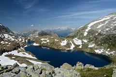 Geisspfadsee (gramignacosy) Tags: panorama mountain alps landscape switzerland piemonte svizzera alpi montagna valais alpinelakes vco devero laghi binntal laghettialpini cantonvallese passodicrampiolo geisspfadsee laghidigeisspfad valledibinn