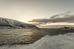 Arctic view (Echoes89) Tags: trip sea norway circle norge view arctic polar norvegia circolo polare artico tromso troms kvaloya