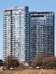 P4140017B (The Real Maverick) Tags: toronto ontario canada highpark outdoor condominium torontoparks olympusstylus1