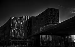 Building Blocks (Nick.Richards) Tags: shadow blackandwhite building london monochrome architecture dark mono office nikon moody greenwich nickrichards tone lightroom buildingblocks nikefex d7100 nikon1685 nikond7100