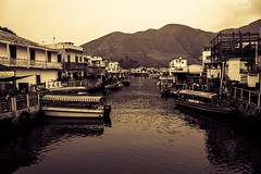 --HongKong Fishing Village Tai O (AllenPan02) Tags: lake building hongkong fishing village culture   taio