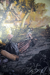 Detalle de los tapices de la sala Octavio Paz (Casa de Amrica) Tags: madrid espaa frutas sala fontaine comedor 1902 decoracin francs bodegones palaciodelinares latinoamrica casadeamerica casaamerica tapices fbulas iberoamrica casamerica octaviopax