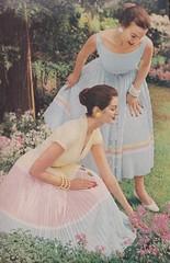 David Crystal for Celanese 1956 (moogirl2) Tags: retro vogue 50s 1956 vintageads celanese vintagefashions davidcrystal vintagevogue 50sfashions
