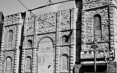 Talkies (David Swift Photography Thanks for 15 million view) Tags: film philadelphia architecture facade 35mm movies theaters ilfordxp2 ghostsigns southphilly movietheaters historicbuildings yashicat4 formertheaters oldtheaters historicphiladelphia davidswiftphotography