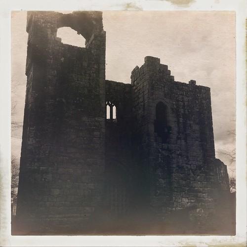 Etal Castle - Ford and Etal, Northumberland - Hipstamatic