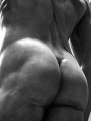 David's Back (G E G / VEVZE) Tags: sculpture white man david male men art ass statue museum nude blackwhite back body albert butt victoria cast corps and michelangelo homme glutes blakc
