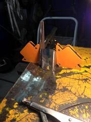 Test Piece Setup (john.and.kath) Tags: chevrolet conversion welding engine mount swap impala ls 1965 pedestal fabrication 60l l98 jrd ls2 l76