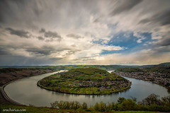 River Rhine - Boppard - Germany (Ansgar Hillebrand) Tags: longexposure landscape landscapes wide wideangle olympus landschaft rhein omd landschaften boppard rheinlandpfalz longexposuretime longtimeexposure landscapephotography panasonic714mm olmypusomdem5markii