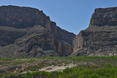 Santa Elena Canyon, Texas (Darren W Brown) Tags: vacation mountains nature mexico star nikon texas bend hiking canyon national elena park borderlands state canyon 2470 mountain west santa nikon us national big west rio grande texas family vacation f28 alpine lone border 2470 bravo elena d800