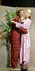 """""""In the Burning Darkness,"""" a play by Vallejo performed by WSC students (ali eminov) Tags: actors nebraska wayne indoors plays theaters performances majestictheater waynestatecollege studentactors"""