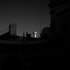 Sunset on chimney. (Black&White24) Tags: roof contrast dusk tops puglia aerials martinafranca chimneypots lightandshade