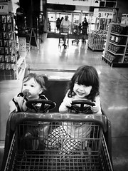 Bro and Sis (drewweinstein34) Tags: family smile kids kid flickr sister brother explorer greatshot grocerystore