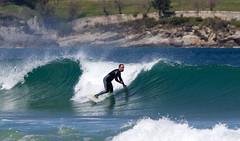 Sardinero abril 2016 (Dj Seve) Tags: costa beach mar surf waves wave playa surfing deporte olas santander cantabria cantabrico surfista cantbrico sardinero surfero