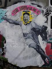 Kim Jong Un (marc.fray) Tags: streetart paris france belleville coredunord   kimjongun premiersecrtairedupartidutravaildecore