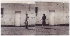 the open road (Lisa Toboz) Tags: selfportrait polaroid diptych pittsburgh slr680 meandyou instantfilm nevilleisland impossibleproject polaroidweek2016