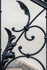 Schmiedekunst (fotomanni.de) Tags: treppe ornament gelnder schmiedeeisen
