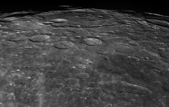 Bailly Crater (Ted Dobosz) Tags: camera moon mare ace 11 crater aca walls plains lunar barlow seas celestron basler impacts c11 3x bailly 1920155um
