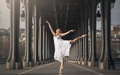 (dimitryroulland) Tags: street city light urban ballet paris france art dance nikon ballerina natural 85mm dancer 18 performer birhakeim d600 dimitry roulland