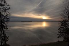 Catching the sunset (wiltsepix) Tags: sunset lake michigan higgins