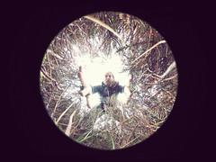 122/366 - looking under the heather (possessed2fisheye) Tags: selfportrait self pov creative fisheye 2016 creativeselfportrait 366 creativeportrait circularfisheye 366project fisheyeselfportrait possessed2fisheye fisheyeireland ricohthetas 366project2016 3662016 project3662016 ricohthetas360camera
