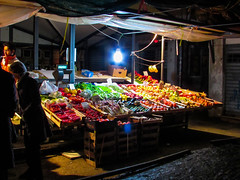 fruit stall (nathansmith12321) Tags: fruit evening market stall veg rialto