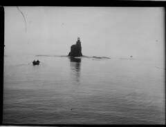 Porkkala; majakka merelt n. 300 m pst kuvattuna (KansallisarkistoKA) Tags: lighthouse 1922 beacon majakka porkkala