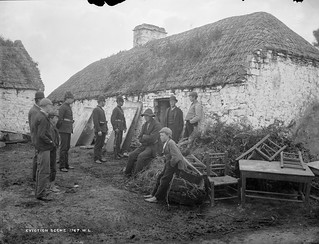 Michael Connell, Moyasta, Co.Clare after eviction