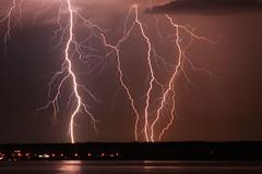 Blitzlichtgewitter (judith.kuhn) Tags: wasser nacht outdoor ufer blitz bodensee gewitter wetter