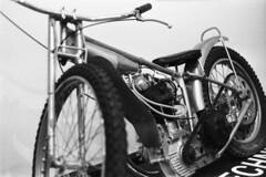 FIS - Polish Speedway Motobike (Analog World Thru My Lenses) Tags: bw speedway fis motobike rikenon50mmf14 ricohxr7 rolleirpx400