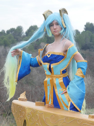 Shooting Sona - League of Legends - Miramas Le Vieux - 2015-12-27- P1260520