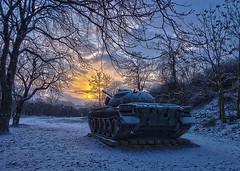 Fort Monostor T32 (Delfinibi) Tags: hungary tank outdoor olympus ungarn hdr magyarorszg komrom tl plet monostorierd fortmonostor erd harckocsi mzuiko koppnymonostor olympusm1442mmf3556iir olympusepl5 epl5