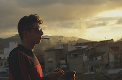 puff puff (J.CVMPOS) Tags: sunset spain weed smoke smoking alicante monovar