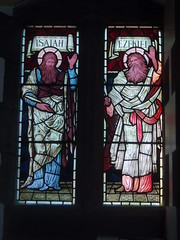 Isaiah & Ezekiel (Aidan McRae Thomson) Tags: church window stainedglass cumbria brampton preraphaelite burnejones