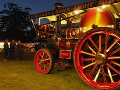 Starlight at Old Warden (Ben Matthews1992) Tags: road old longexposure england motion vintage bedford compound fairground britain rally great transport traction engine bedfordshire loco historic steam vehicle locomotive preserved edwards 1920 preservation starlight showman burrell haulage 2015 oldwarden 3836 showmans 6nhp oldwarden2015 bh8020