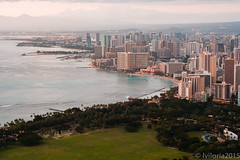 -8 (Aiganaiguy) Tags: longexposure mountain nature landscape hawaii waikiki hiking crater diamondhead bluehour goldenhour