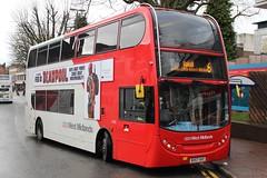 National Express West Midlands Alexander Dennis Enviro400 4735 (BV57 XHZ) (Walsall) (john-s-91) Tags: suttoncoldfield 4735 deadpool alexanderdennisenviro400 nationalexpresswestmidlands bv57xhz walsallroute6