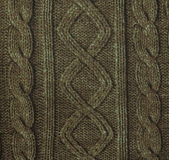 2461B -- Knit Cable Look , Diamond and Rib Print Fabric in Bistre Brown , Wash Effect Look , Japanese Cotton, Cosmo Textile (ikoplus) Tags: brown look bag print japanese sewing knit cable diamond apron textile wash fabric cotton commercial rib supplies cosmo effect tote 2461b bistre ikoplusfabric