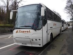 PWV 693 (Cammies Transport Photography) Tags: road travel england bus buses scotland coach jj edinburgh rugby v specials mcgills corstorphine pwv 693 pwv693