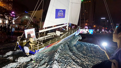 All aboard (Roving I) Tags: boys night children babies sails statues racing mothers vietnam aquafina yachts toddlers clipper danang roundtheworld smartphones