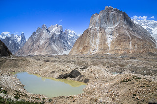 Glacial Melt Pond, Urdurkas, Central Karakoram National Park, Gilgit-Baltistan, Pakistan