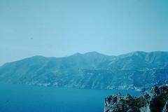Italy- 1954 (182)-Salerno Bay from Capuccini Inn- Amalfi (foundslides) Tags: italy italia europe europa 1953 1950s irmalouisecarter foundslides kodak kodachrome slide slides photos photo pictures pics pix retro vintage tourist tourists 50s analog slidecollection irmarudd