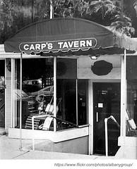 carp's tavern 1960s (albany group archive) Tags: ny tavern albany carps 1960s