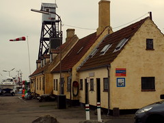 Cold and Freezing and in Need! (Hythe Eye) Tags: copenhagen harbour wc havn fishingvillage windsock dragor cobbledstreets dragorhavn