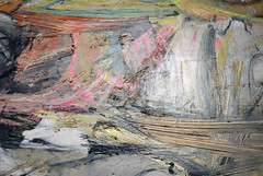 De Kooning, Woman I, 1950-52 (detail)