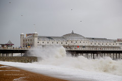 Storm Imogen hits Brighton pier (Scotty H..) Tags: uk sea england storm english weather outdoors pier brighton waves wind windy stormy gales british seafront winds eastsussex seas breaking brightonpier palacepier wintry breakingwaves stormforce gusting