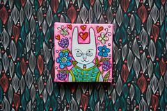 f_rabbit_5 (apolinarias) Tags: rabbit bunny art easter spring etsy