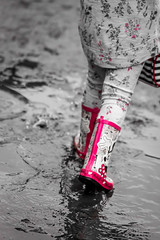 31/366 Splash of Colour - 366 Project 2 - 2016 (dorsetpeach) Tags: red sussex boots 365 minniemouse wellies wellingtons hailsham 2016 366 colourpop wellieboots knockhatch aphotoadayforayear 366project second365project